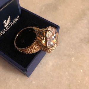 Swarovski Crystal Statement Ring